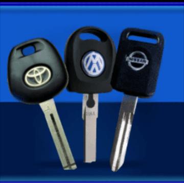 3 chiavi auto