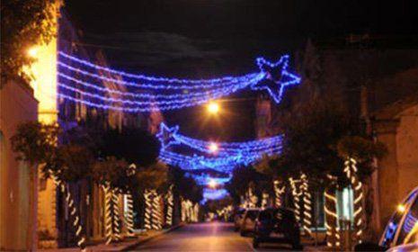 Luminarie natalizie e impianti elettrici a Chiaramonte Gulfi