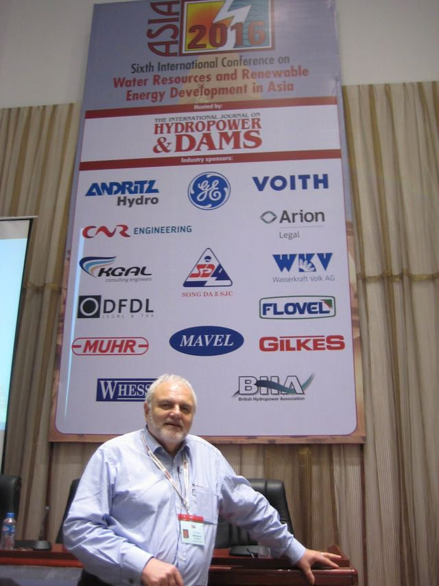 Photo of David Williams at ASIA2016