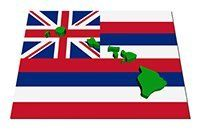 Hawaiian Flag representing our locally owned and operated Pizza Shop in Kihei, Maui