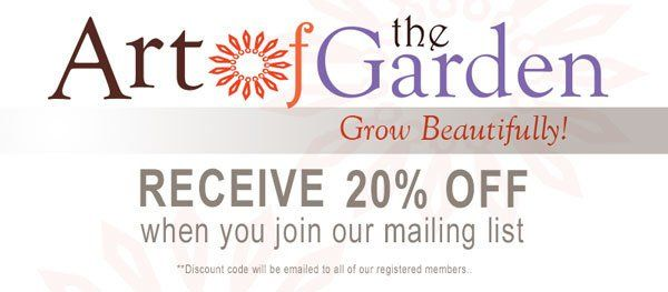 Discount on Garden Products