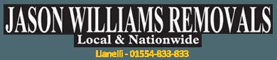 JASON WILLIAMS REMOVALS logo