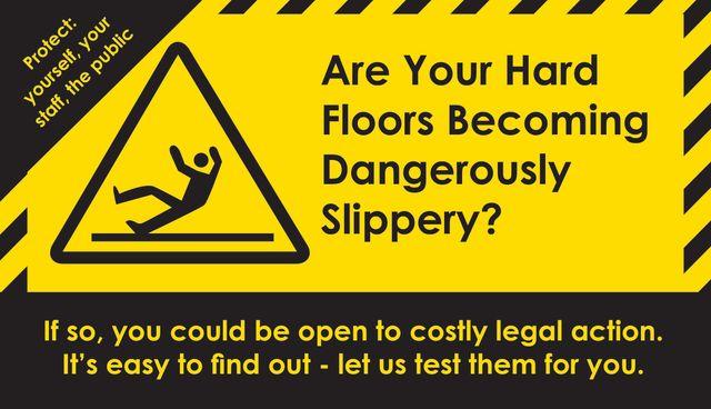 Floor Slip Testing