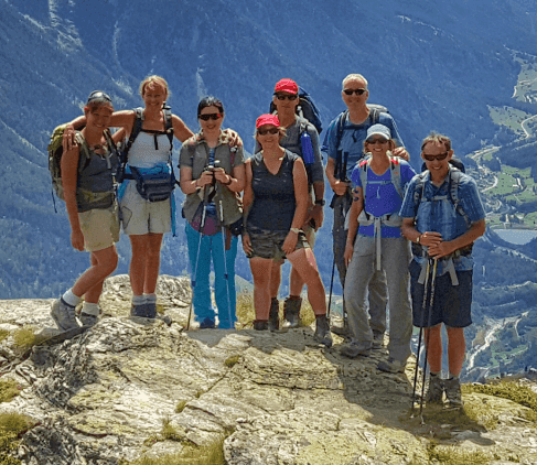 Guided Group on the Haute Route