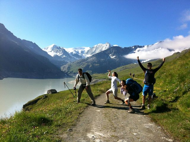On the haute Route