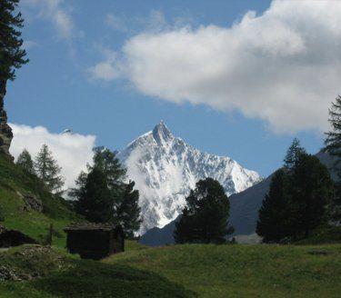beautiful view of a mountain