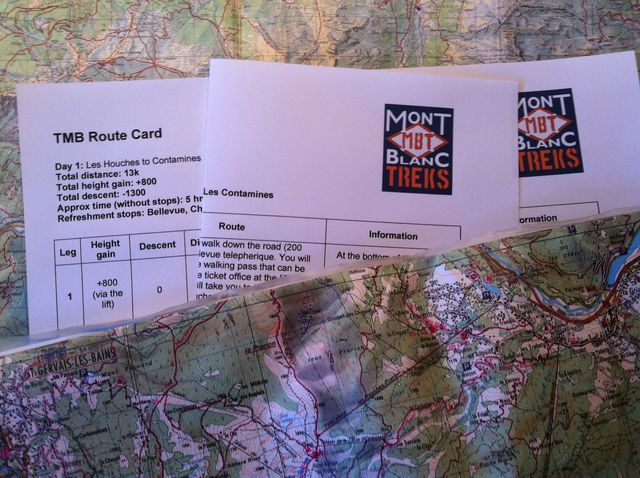 Trekking Route Cards