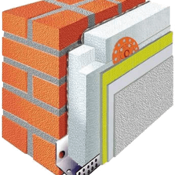 graphic of wall insulation