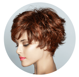 Stylish hair cut