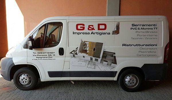 Servizi edili e ristrutturazioni, serramenti e finestre blindate ad Alpignano