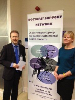 Doctors' Support Network 2016 Louis Appleby at UKAPH mental health