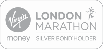 Doctors' Support Network 2017 Virgin Money London Marathon silver bond logo mental health