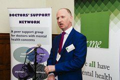Doctors' Support Network 2017 Dr Jonathan Richardson &me mental health