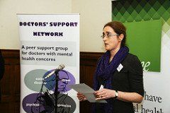 Doctors' Support Network 2017 Dr Louise Freeman &me mental health
