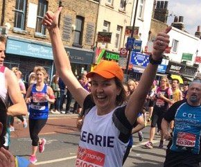 Doctors' Support Network 2017 Kerrie Wallis Marathon mental health