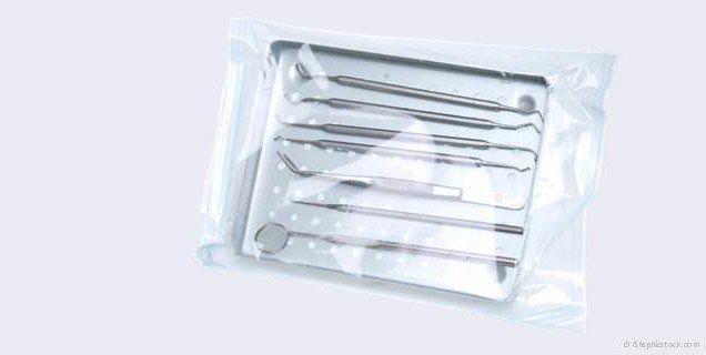 Für Ihre Sicherheit: Sterilisierte Behandlungsinstrumente