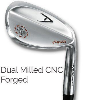 dynacraft dual milled cnc forged wedge