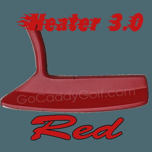 heater 3.0 red blade putter