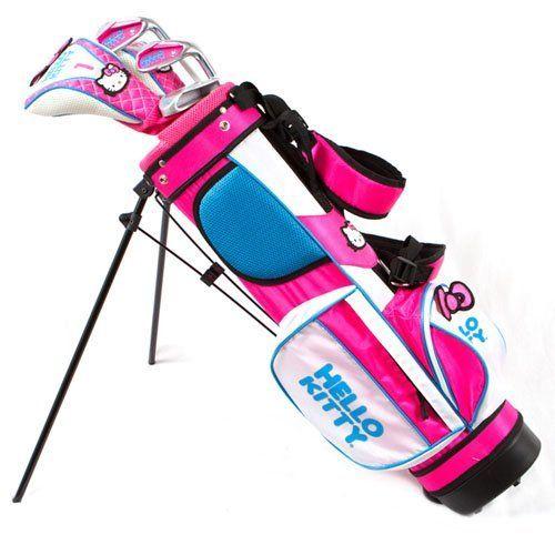 Hello Kitty girls junior golf set age 3-5