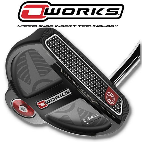 odyssey o-works 2 ball putter