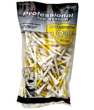 pride professional golf tees 2 3/4