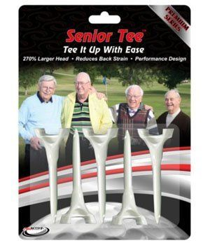 senior golf tees