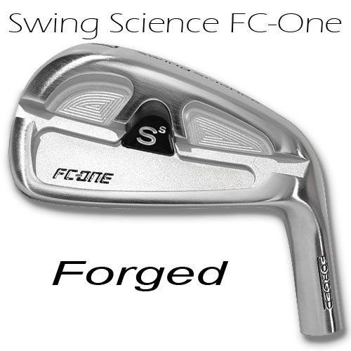 swing science fc one pro forged iron satin
