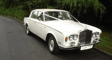 Silver shadow car