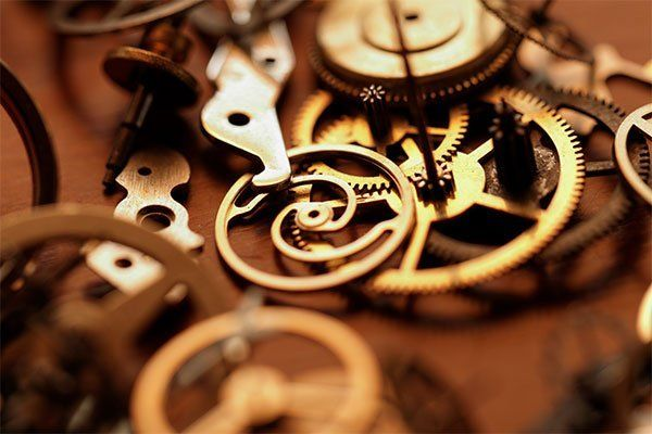 Clock parts for restoration