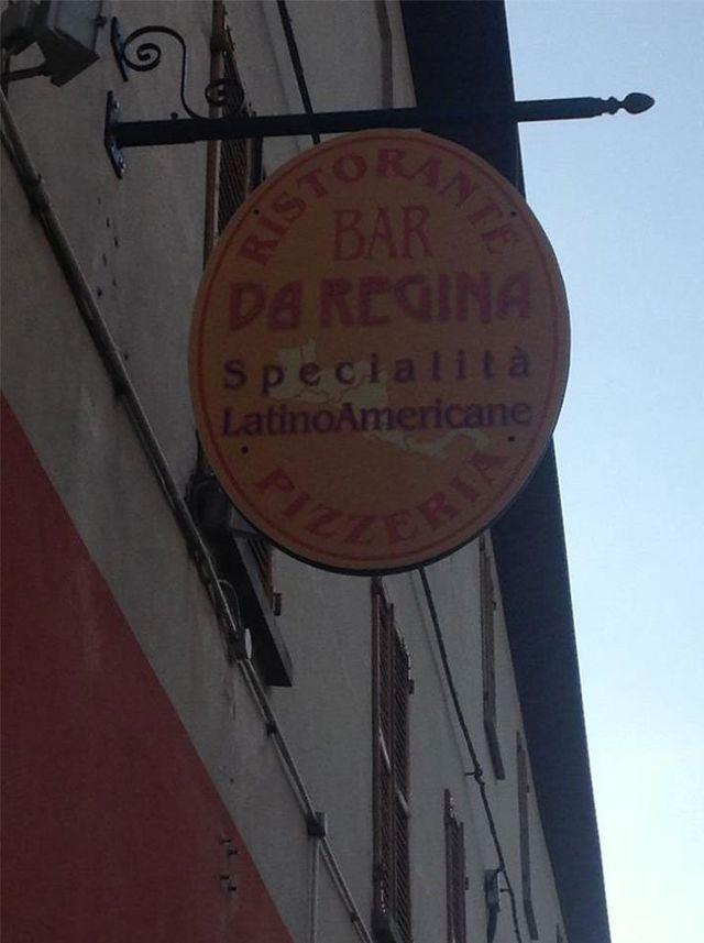 Ristorante Pizzeria Da Regina insegna