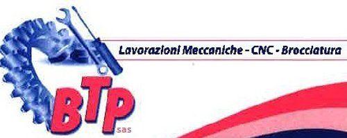 BTP LAVORAZIONI MECCANICHE - LOGO