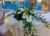 fiori per matrimoni, spedizioni, allestimento pranzi nuziali