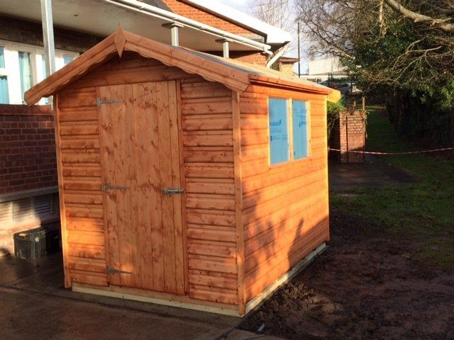 Custom garden sheds in Neath | Seven Sisters Sawmills (Sheds