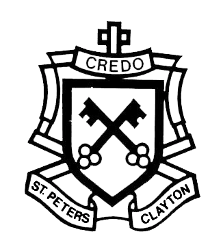 St Peter's Primary School Clayton logo