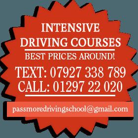 Practical driving test - Honiton, Devon - Passmore School Of Motoring - Peugeot