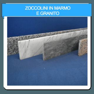 zoccolini in marmo