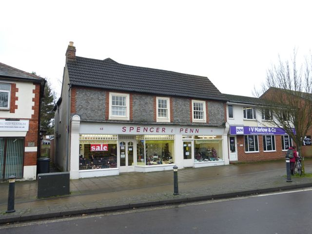 Retail properties along the South Coast