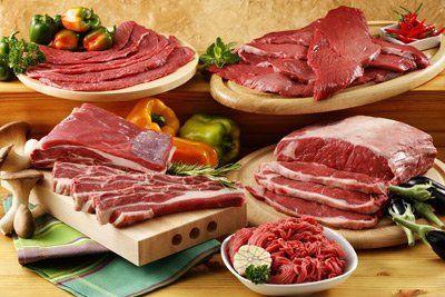 taglieri con carne cruda