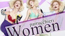 Locandina dei parrucchieri WOMEN