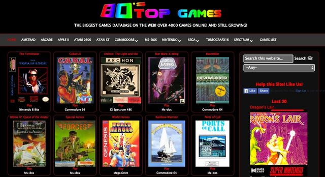 Retropluggers - Retro Gaming Resource
