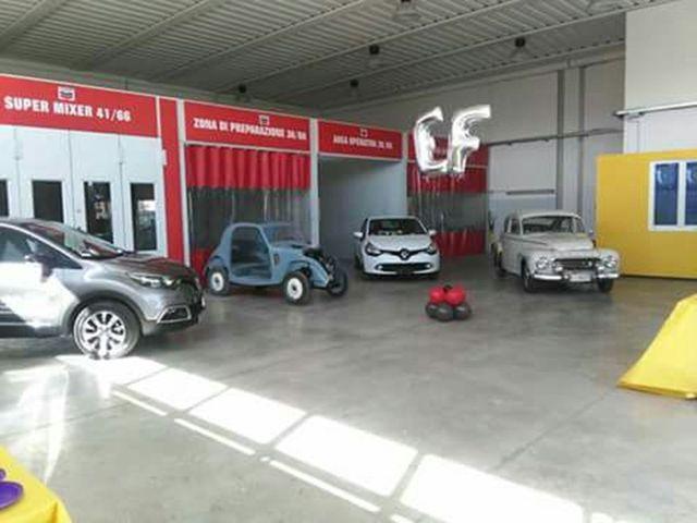 Restaurazione dell'auto dall'elettrauto EF a Livorno