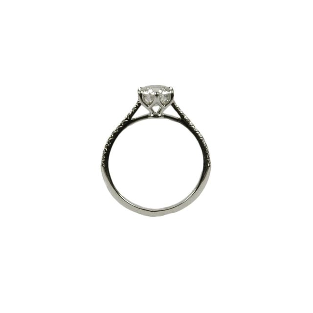 Six-Prong Diamond Engagement Ring