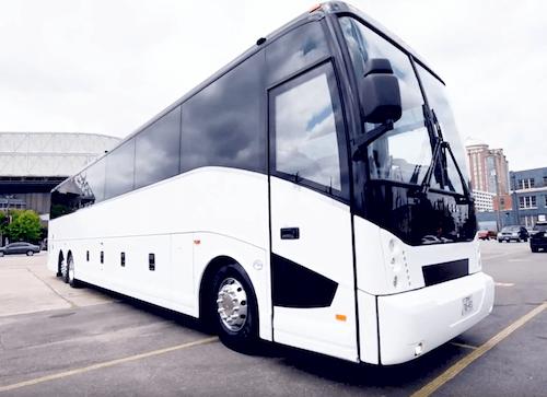 charter bus rental service
