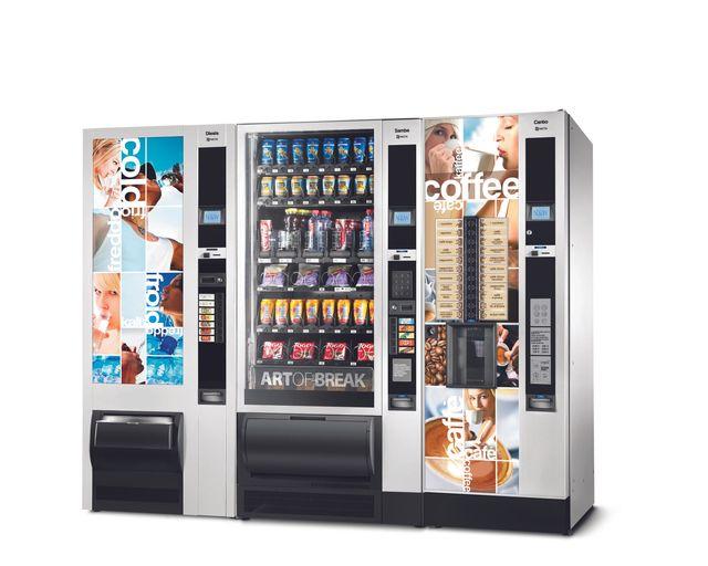 distributori automatici di snack e bevande