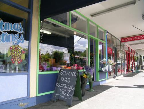Florist picking flowers in Christchurch