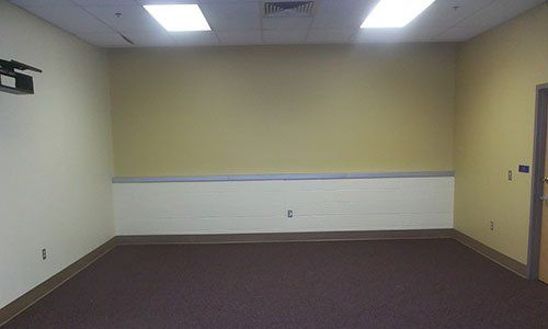 Well painted accent walls