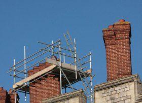 Commercial Scaffolding - Ashford, Kent - Atlas Scaffolding - Chimney Repairs