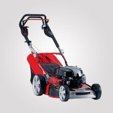 garden machinery for servicing