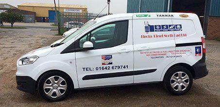 Electro Diesel North East Ltd company van