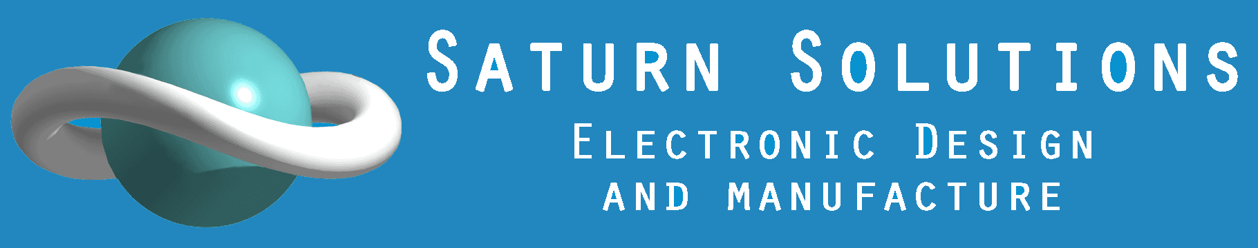 Saturn Solutions _ Electronic Design and Manufacture Company Logo